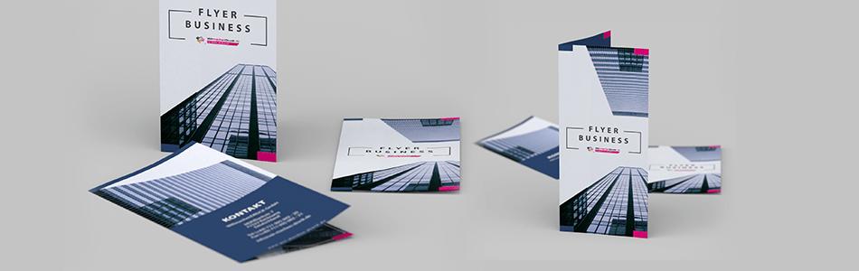 100x DIN A5 Flyer einseitig auf 350 g//m² Papier