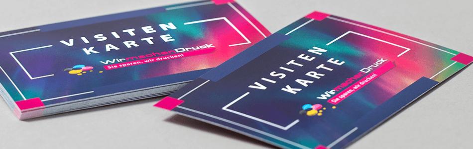 Standard Visitenkarten Zum Besten Preis Wirmachendruck Ch