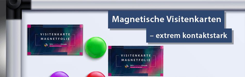 Magnetische Visitenkarten Drucken Lassen Wirmachendruck Ch