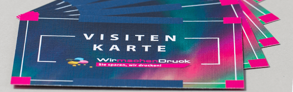 Visitenkarten 350g Offset Weiss Drucken