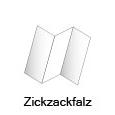 Zickzackfalz